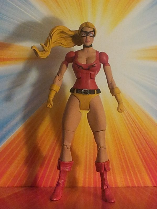 JESSE QUICK Jesse Chambers Justice League of America (DC Universe) Custom Action Figure