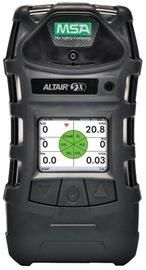 MSA ALTAIR® 5X Portable Combustible Gas, Carbon Monoxide, Hydrogen Sulphide, Oxygen And Sulphur Dioxide Monitor With Rechargeable Battery, Color Display, Pump, Sampling Line And Probe