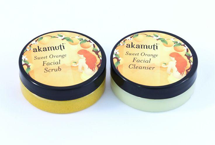 Čistiaci krém a a pleťový píling s éterickým olejom z divokého pomaranča voňajú tak, že ich máte chuť ochutnať :)