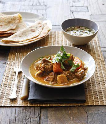 Bill Granger's Chicken and Sweet Potato Curry