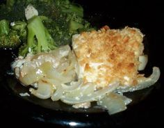 Halibut Olympia from Food.com: We liked this recipe so much we had the caterer use it at our wedding. All the guests raved about how it was the best halibut they had ever had. It also helps to have fresh halibut.