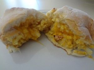 Breakfast Pockets - These are super easy to make and freezer friendly!