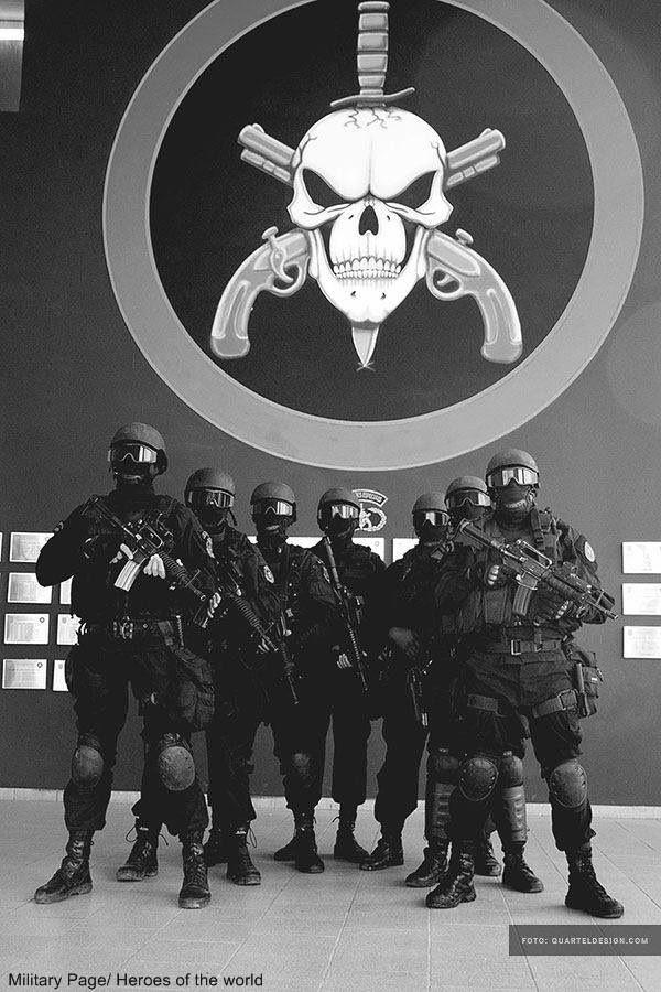 BOPE - Special Operations Battalion, Elite Squad Police - Brazil