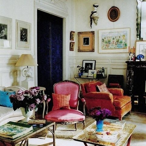 Sorbet Colors Paris Flavor Interiordesign Inspired Interiors House Home
