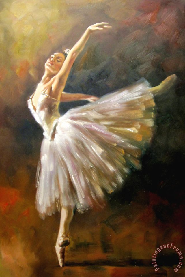 Ballet Painting by Andrew Atroshenko