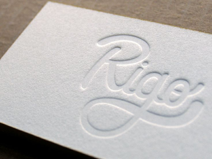 294 best business cards images on pinterest brand identity 100 letterpress business cards 1 colour flat print by finoprint reheart Images