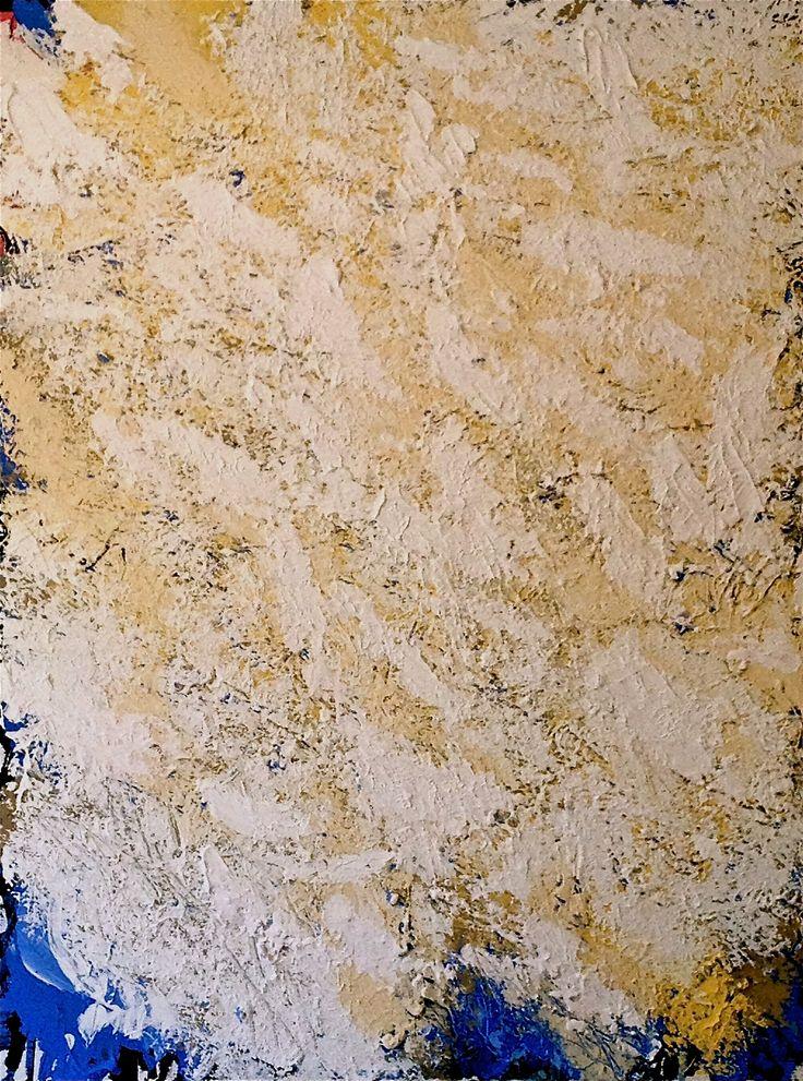 'Brouhaha', oil and acrylic on canvas, 101cm x 76cm