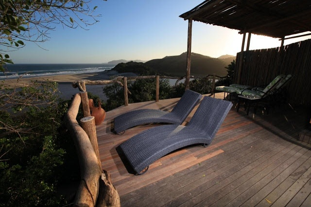 Natabeni Spa Suite at Umngazi River Bungalows and Spa Exterior in the Eastern Cape's Wild Coast