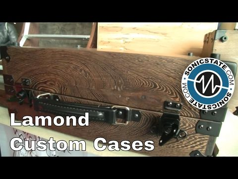 Superbooth 2017: Lamond Design Hardwood Eurorack Cases - YouTube