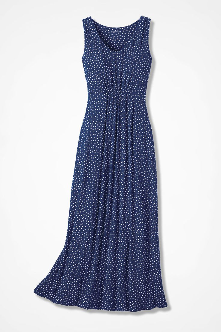 Dots-a-Million Dress - Coldwater Creek $110