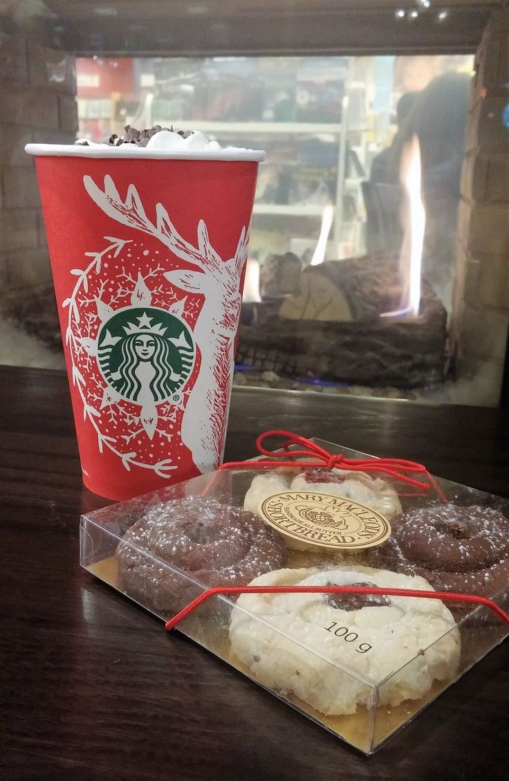 Complement your peppermint mocha with Mary Macleod's Shortbread cookies! Available at all participating Starbucks Canada locations across the country.