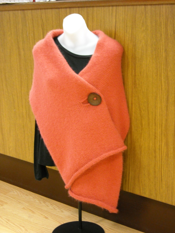 knitted wrap ~ will someone please make this for me?