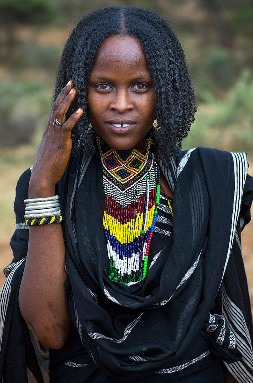 Africa  Borana Woman Yabelo, Ethiopia  Eric Lafforgue -3121