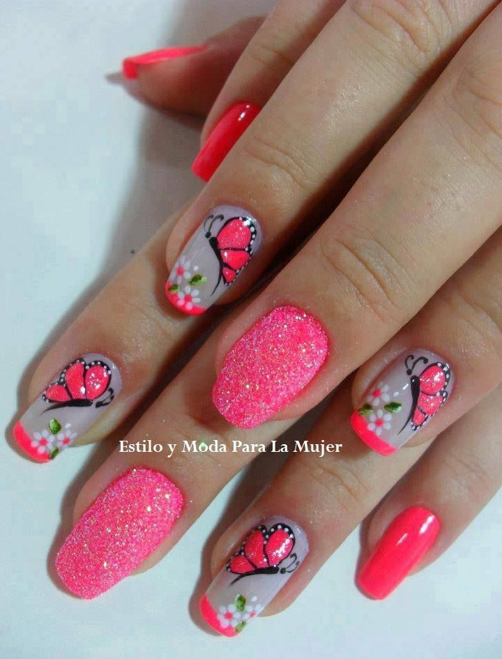 305 best decoracion de uñas images on Pinterest | Perfect nails ...