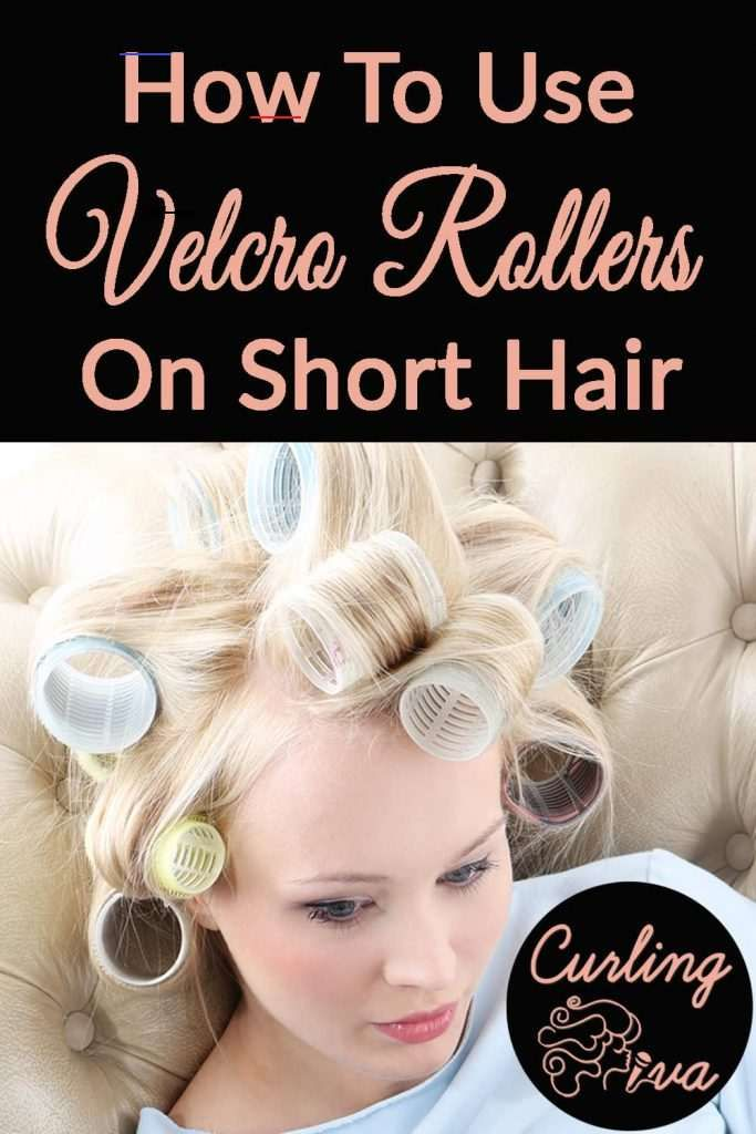 How To Use Velcro Rollers On Short Hair Curlshorthair In 2020 Short Hair Styles Velcro Rollers How To Curl Short Hair