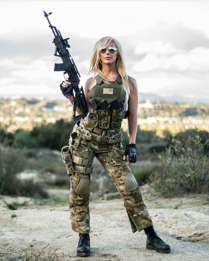 девушки милитари фото вытащил