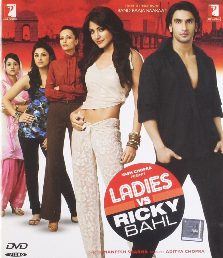 Ladies Vs Ricky Bahl: dvd