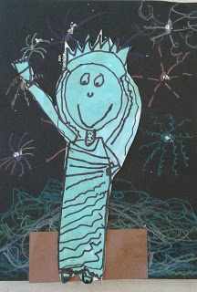 2nd Grade Statue of Liberty designs!