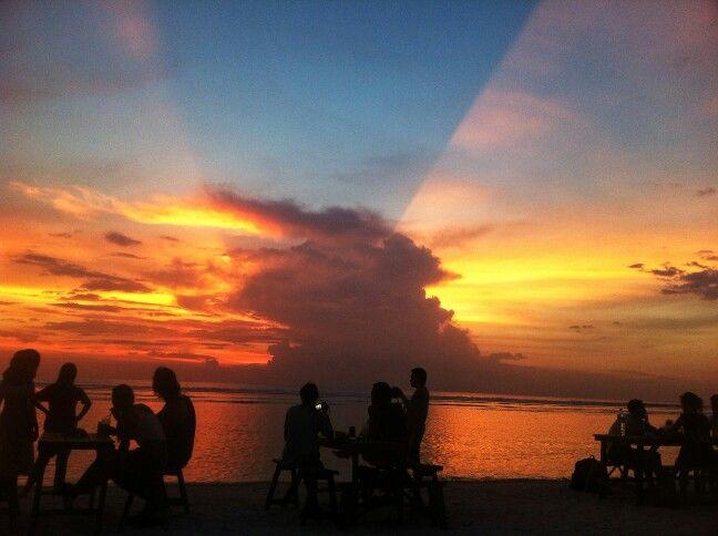 Sunset Beach, Gili Trawangan, Lombok, Indonesia