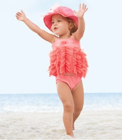 Flamingo Tankini by Chasing Fireflies