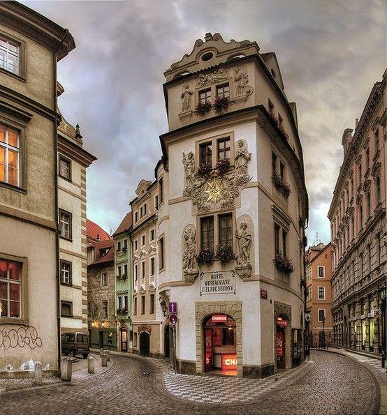 ARCHITECTURE – Medieval, Prague, Czech Republic photo via wendy