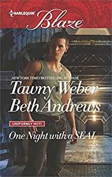 Title: All Out Author: Tawny Weber and Beth Andrews Release Date: June 1, 2017 Publisher: Harlequin Blaze Series: Uniformly Hot! Genres: Romance/Contemporary Romance Page Count: 224 Format: Digital and Print  http://www.hotofftheshelves.com/2017/06/one-night-with-seal-by-tawny-weber-and.html