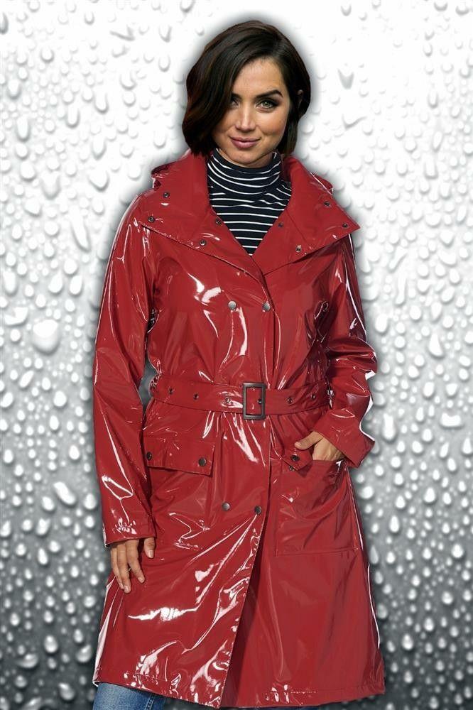 Vinyl Regenmantel Regenmantel Mantel Jacke Und Regenjacke