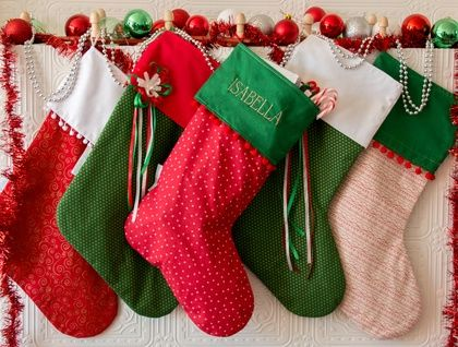**SALE!!!** Personalised Christmas Stocking **SALE!!!**