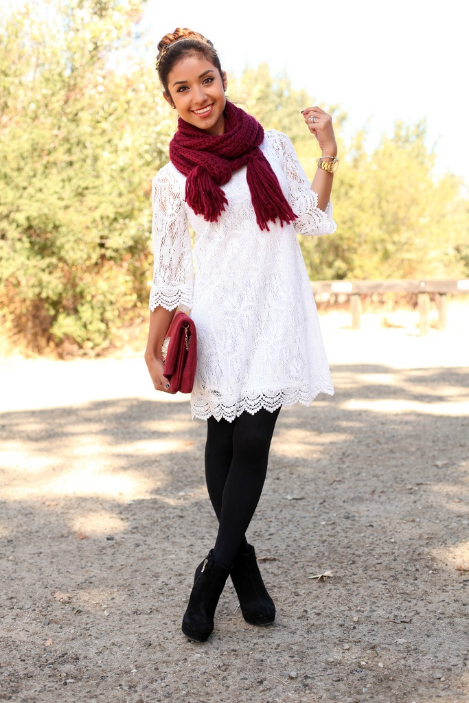Dainty Lace Dress.