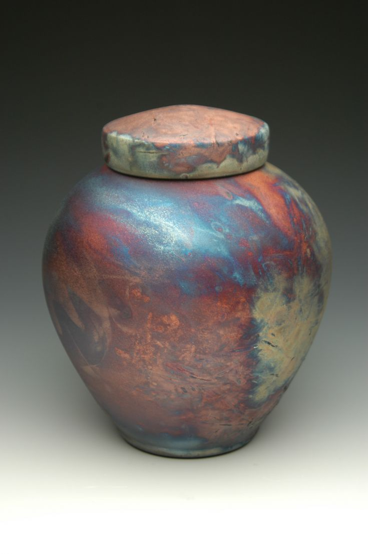 Unique Raku Pottery | hand thrown ceramic stoneware cremation urns, funeral urns or funerary ...