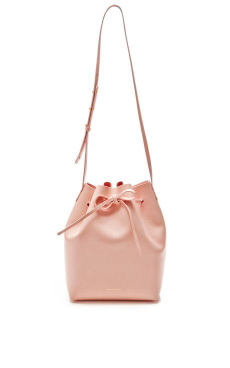 Large Bucket Bag In Rosa with Rosa Interior by Mansur Gavriel - Moda Operandi