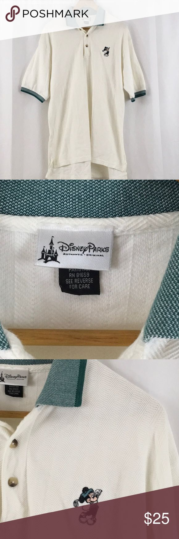 Disney Mickey Mouse Golf Polo Shirt Gently used Mickey Mouse Golf Polo shirt size large Disney Shirts Polos