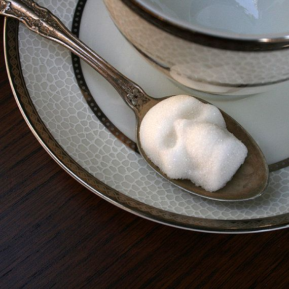 CRANIO di zucchero  teschi di zucchero 1 sacchetto di di dembones