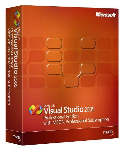 Microsoft Visual Studio Pro w/MSDN Pro 2005 [OLD VERSION]  http://www.bestcheapsoftware.com/microsoft-visual-studio-pro-wmsdn-pro-2005-old-version/