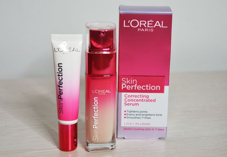 Loreal Skin Perfection Correcting Serum and Awakening + Correcting Eye cream review