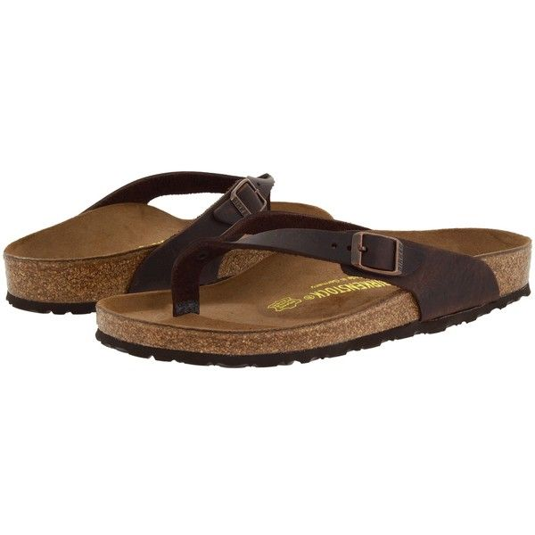 Birkenstock Adria Sandals, Brown ($71) ❤ liked on Polyvore featuring shoes, sandals, brown, evening shoes, cocktail shoes, cushioned shoes, brown sandals and padded sandals