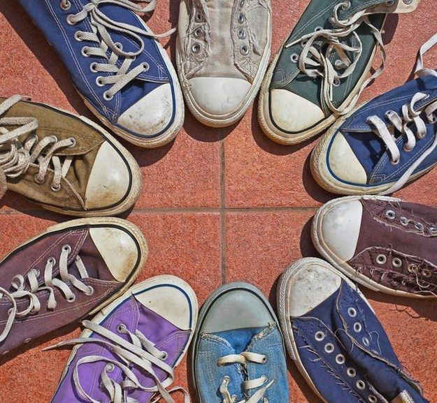 Order out of chaos. Sunshine after rain. Circle out of shoes. | 34 Photos That Will Satisfy All Perfectionists