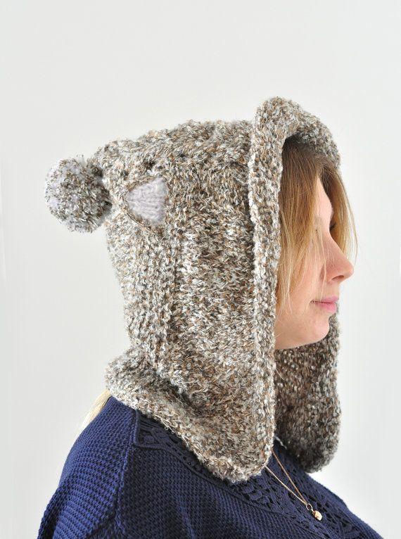 Трикотажное Cat Hat Валентина подарка Cat уха Hat Худ по Monpasier