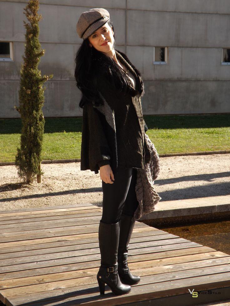 Nuevo outfit en nuestro blog! http://www.vicestilo.com/blog/jerseys-y-cardigans-para-los-dias-de-frio