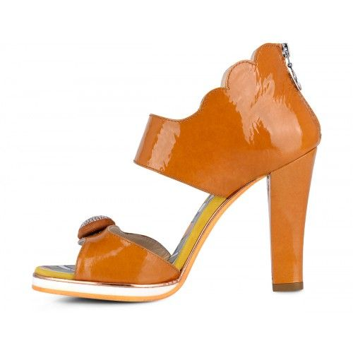 Sandals Woman Fabi F2395 REFLEX 6640 - Fabi #colorful #summer #pumps #heels #shoes #summershoes #orange  #arancio @fabishoes