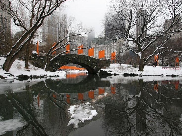 via incentralpark.com  Gapstow Bridge in Central Park