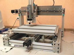 How To Build A CNC Machine   8020CNC.com - made from aluminum extrusions.