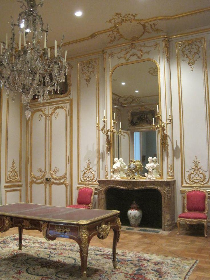 architect design: French Rococo at the Getty