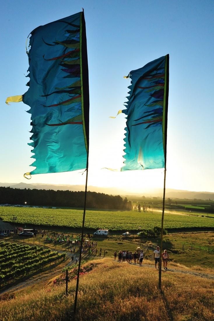 Rhythm and Vines Flags - 2009