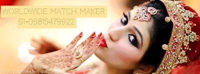 WORLDWIDE MATCH MAKER 91-09815479922 : HIGH STATUS MARRIAGE BEUREAU SERVICES IN PUNJAB 09...