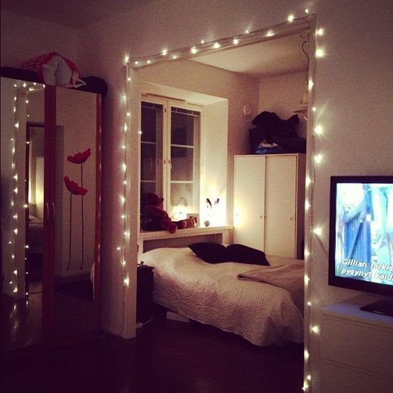 die besten 25+ weihnachtsbeleuchtung im schlafzimmer ideen auf ... - Weihnachtsbeleuchtung Im Schlafzimmer