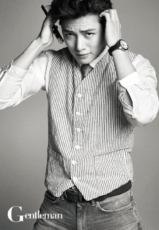 Ji Chang Wook - Gentleman Magazine June Issue '14