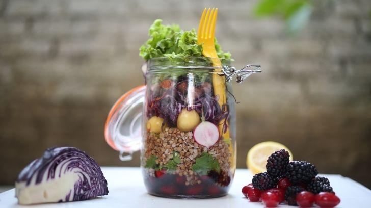 Karabuğday Kavanoz Salata - Mynet Yemek