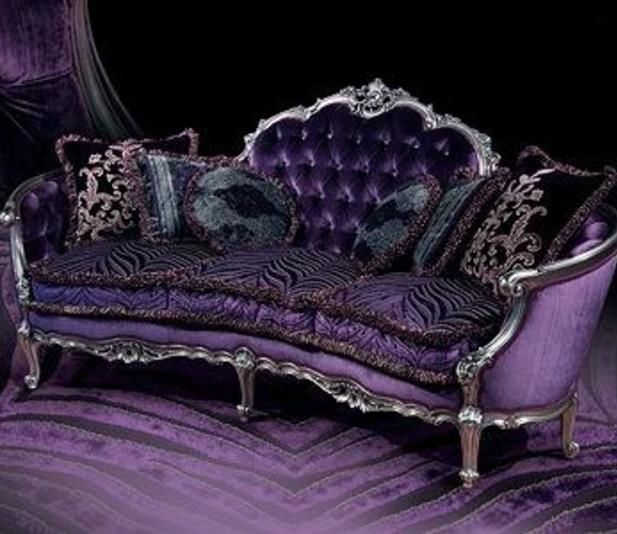 Hi there!  I just found this lovely picture from a Purple Sofa, I think is so! nice and unique, a living room with a piece like this would look incredible.  I