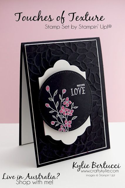 Stampin' Up! Australia: Kylie Bertucci Independent Demonstrator: Crazy Crafters Blog Hop with Special guest Cindy Schuster
